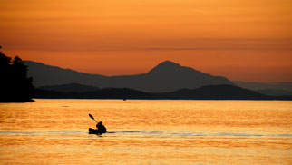 Kayak at Sunset by Jeff Reynolds