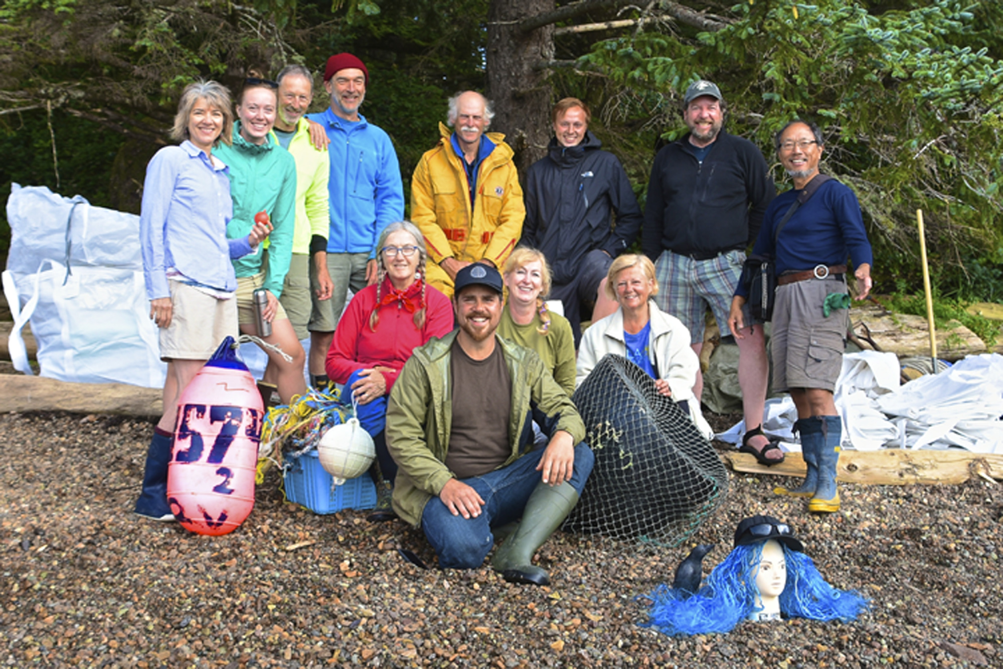 Sea Otter Cove Clean Up Crew 2016