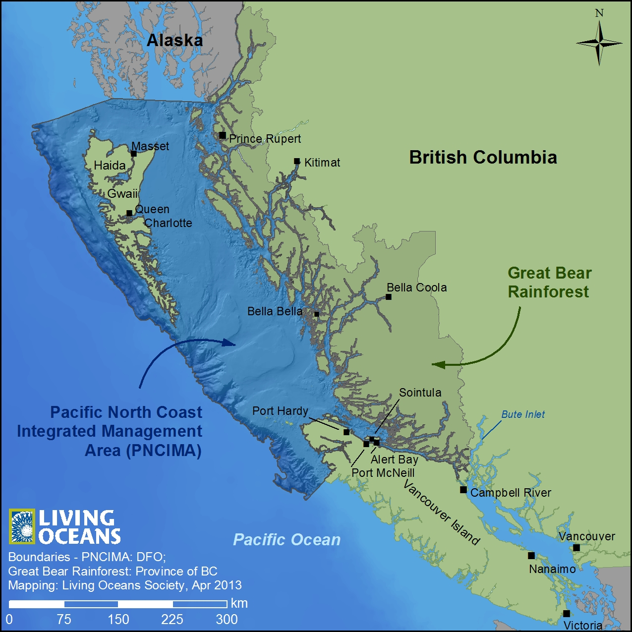 Pacific North Coast Integrated Management Areas And The
