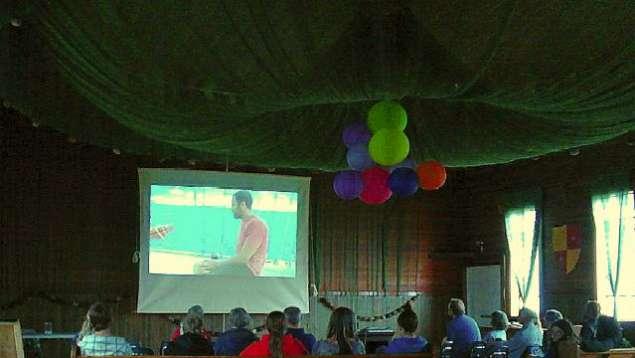 Film screening in Sointula