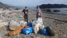 Hecht Beach Clean Up