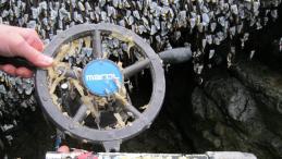 Wheel from skiff